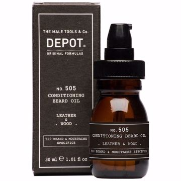 Depot Beard Oil Leather & Wood 30 ml