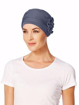 Lotus turban blue 1003-0168